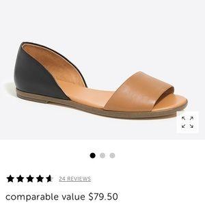 Jcrew factory sandals - size 6 - new